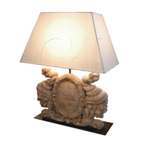 Biarritz Lamp With Shade-D