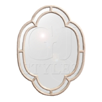 Grasse Antiqued Wall Mirror