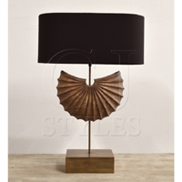 LA Coquille Lamp W/Shade