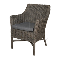 Roland Armchair in Grey