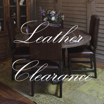 LEATHER CLEARANCE SALE