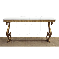 Reed Wall Mount Console W/ Marble Top