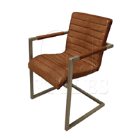 Sabina Leather Arm Chair